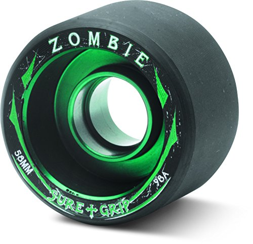 Sure-Grip Zombie Wheels Low 59mm 98a - Green Hub