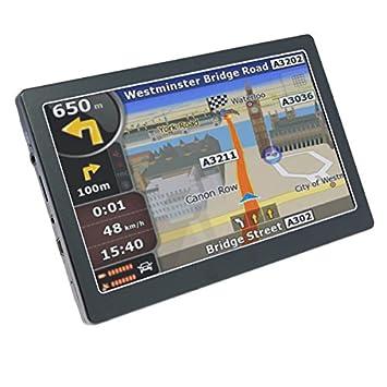 YATEK Navegador GPS de 7 Tactil con Bluetooth, Mapas Europa ...