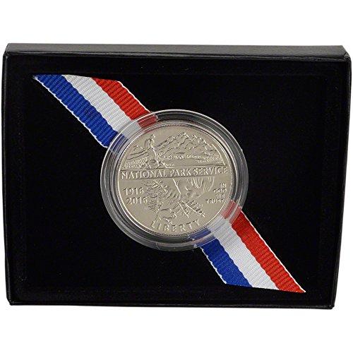 (2016 D US Commemorative BU Half Dollar National Park Service 50C OGP US Mint )