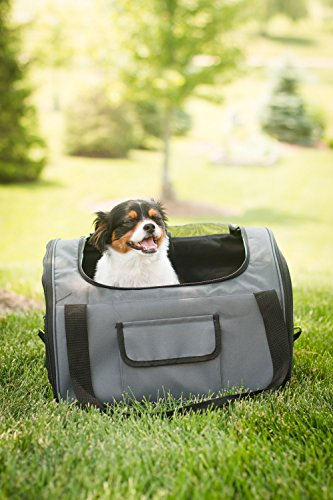 Iconic Pet FurryGo Luxury Booster Seat, Small, Dark Grey by Iconic Pet (Image #10)