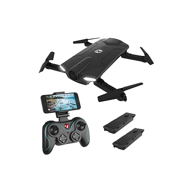 Holy Stone HS160 Shadow FPV RC Drone wit