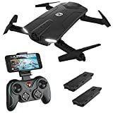 Holy Stone HS160 Shadow FPV RC Drone with 720P HD Wi-Fi Camera Live Video Feed 2.4GHz 6-Axis Gyro Quadcopter for Kids &...