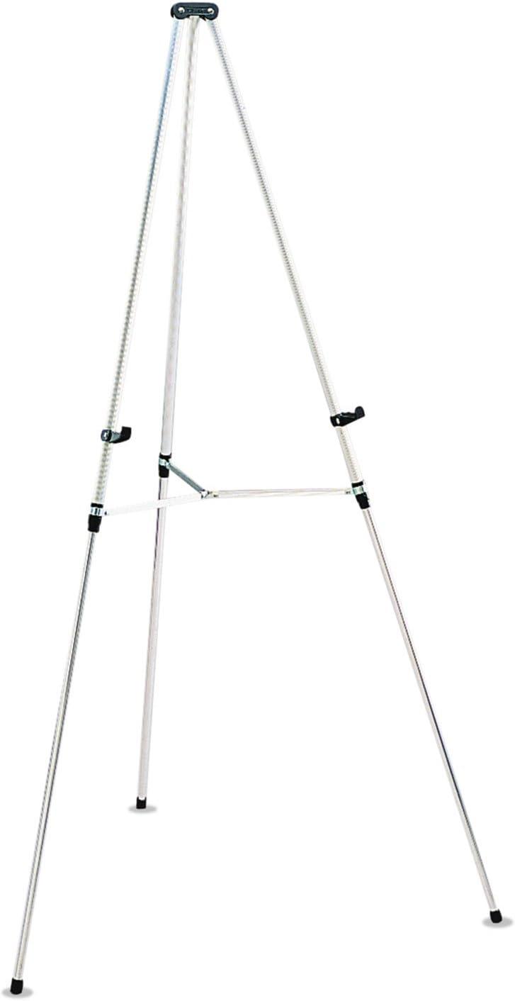 38-Inch -66-Inch H Silver Quartet 50E Tripod Easel 3//4-Inch Tubular Aluminum Legs
