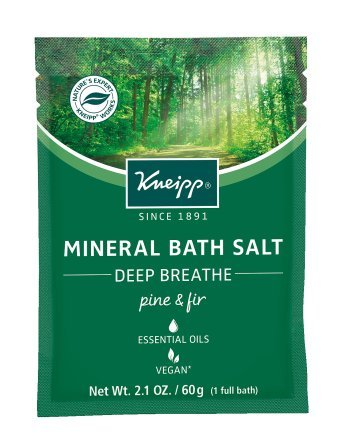 Kneipp Mineral Bath Salt, Deep Breathe, Pine and Fir, 2.1 oz.