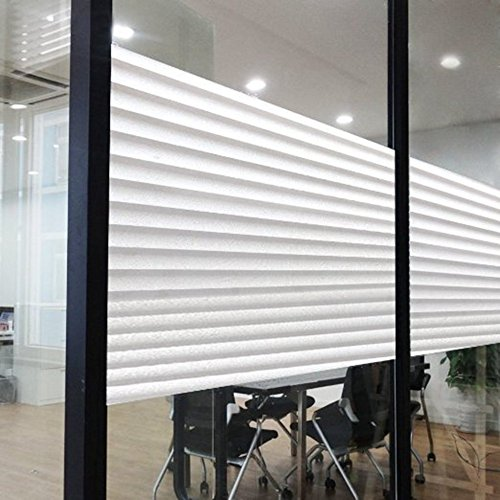 45X200cm Home Office Privacy Frosted Glass Window Film Self Adhesive Static Cling For Bathroom Office 17.7