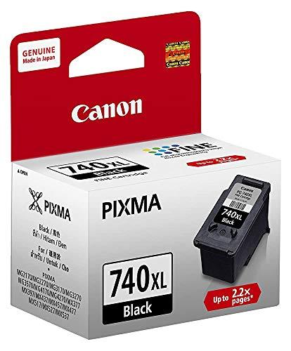 Renewed  Canon PG 740XL Ink Cartridge  Black