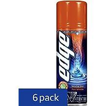 Edge Shave Gel for Men Sensitive Skin - 7 Ounce (Pack of 6)