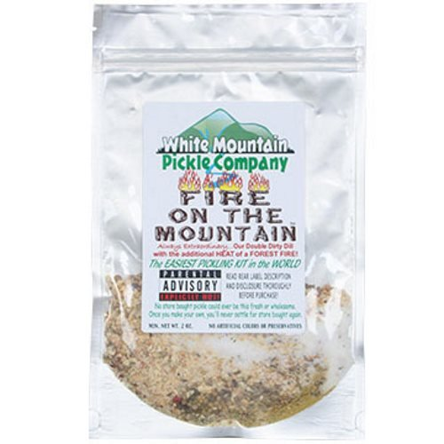 White Mountain Pickle Company ''Pickle On The Edge'' Sampler Pickling Kit - 6 Pack by White Mountain Pickle Company (Image #6)