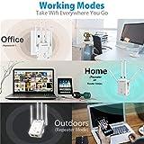 GALAWAY WiFi Range Extender, 1200Mbps WiFi