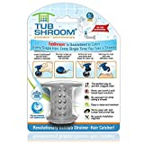 TubShroom the Revolutionary Tub Drain Protector Hair Catcher/Strainer/Snare, Gray: more info
