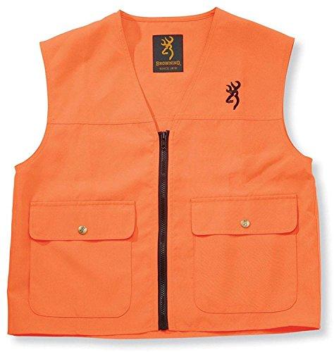 Browning Junior Safety Vest, Blaze Large - Junior Safety Vest