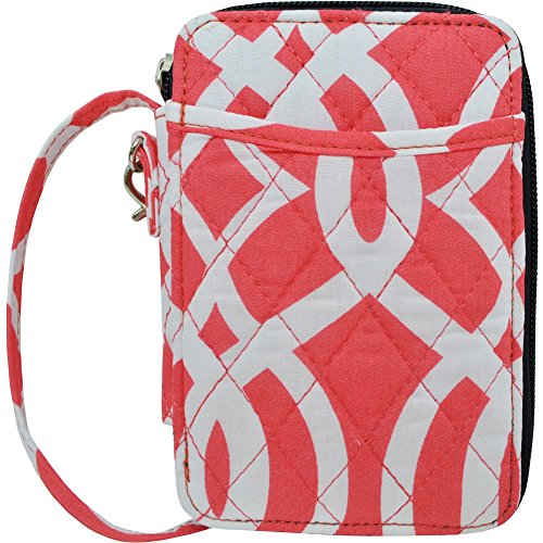 Geometric Themed Prints NGIL Quilted Wristlet Wallet