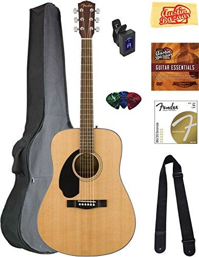 fender-cd-60s-dreadnought-acoustic-guitar-left-handed-natural-bundle-with-gig-bag-tuner-strap-string