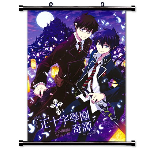 (Blue Exorcist Anime Fabric Wall Scroll Poster (16 x 23) Inches.)