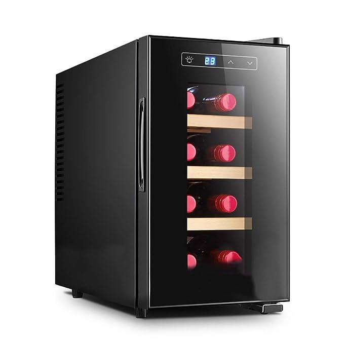 JCJ-Shop Led - Mini Refrigerador de Vino | Nevera de Vino y ...