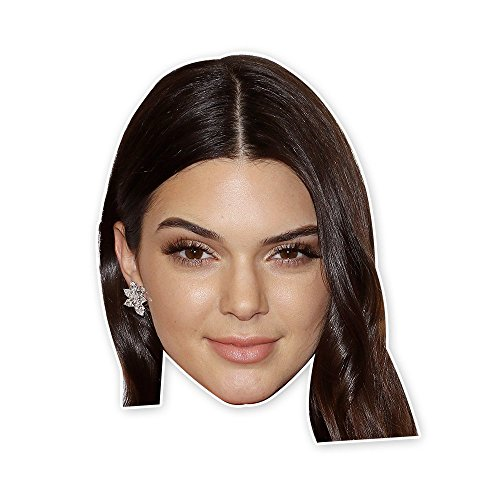 Kendall Jenner Mask   Perfect For Halloween  Masquerade  Parties  Events  Concerts   Jumbo Size Waterproof