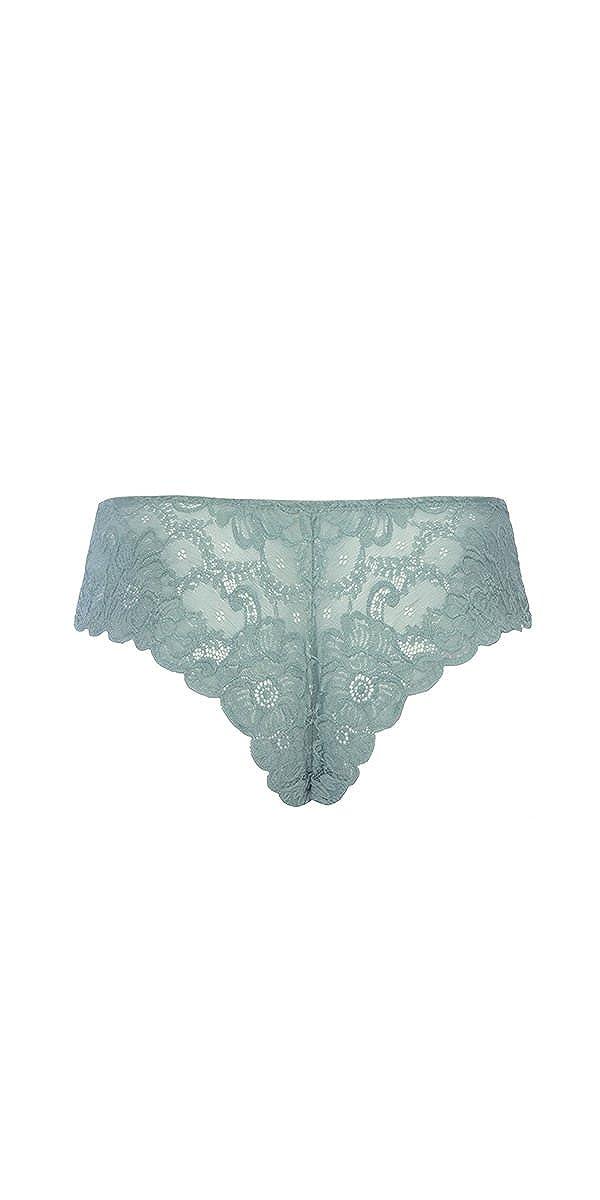 8ce501adfacbe Amazon.com  Musotica Sexy Soft Textured Lace High Leg Tanga  Clothing