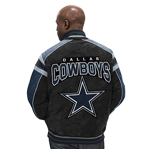 Dallas Cowboys Leather Legend Suede Jacket