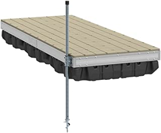 product image for PlayStar Aluminum Floating Dock Kit W/Resin Top - 4'X10' Strong, Lightweight Aluminum Floating Dock 4'X10' with Resin Top