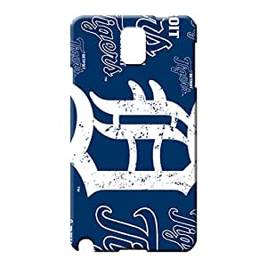 samsung note 3 case dirt-proof Snap On Hard Cases Covers mobile phone skins detroit tigers mlb baseball