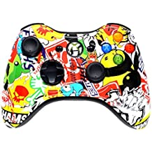STICKER BOMB 5000 + Modded Xbox 360 Controller Hydro Dipped Mod with Rapid Fire / Jitter / Quick Scope / Sniper Breath / Drop Shot / Jump Shot / Auto Aim / Quick Aim / Burst / Akimbo / Mimic / Adjustable / Adjustable Burst / Auto Burst / Dual Trigger and more! For COD Ghosts / MW1 / MW2 / MW3 / Black Ops 1 / Black Ops 2 / WAW / Gears of War Series / Halo Series / GTA / BF and more! 5500
