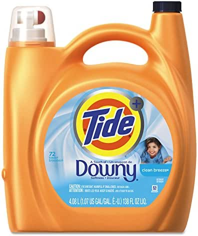 Laundry Detergent: Tide Plus Downy