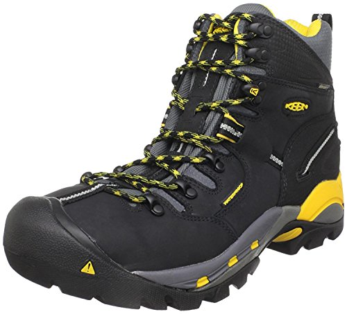KEEN Utility Mens Pittsburgh Steel Toe Work Boot, Negro, 42.5 unknown EU/8.5 unknown UK