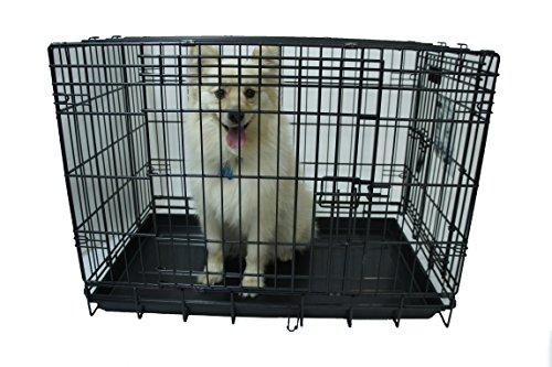 Yml 24 Inch 2 Door Heavy Duty Dog Crate Reviews