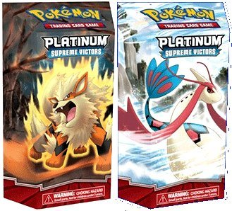 (Pokemon PL Card Game Supreme Victors Set of Both Theme Decks (Arcanine and Milotic))