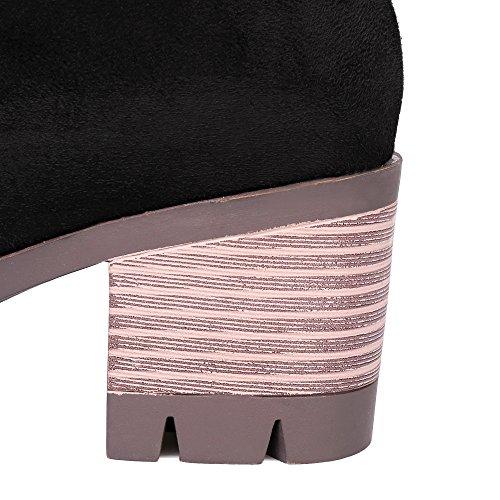 Puntera Cerrada Mujer Shoes Tac Cremallera AgeeMi Mini wqOfxZAU