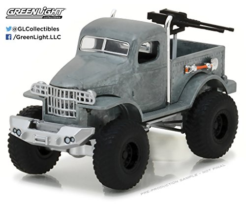 GREENLIGHT 1:64 ALL-TERRAIN SERIES 5 - 1941 MILITARY 1/2 TON 4X4 PICKUP TRUCK DIECAST GREY 35070-A