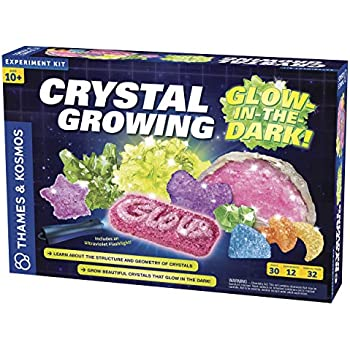 Thames & Kosmos Crystal Growing: Glow in The Dark Science Experiment Kit
