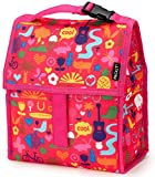 PackIt Freezable Lunch Bag with Zip Closure, Saturday