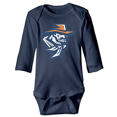 Price comparison product image OOKOO Baby's University Of UTEP Miners Bodysuits Navy 6 M
