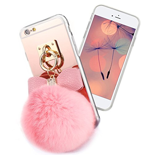 generic-cute-faux-fur-fluffy-ball-with-fashion-mirror-back-soft-flexible-tpu-girly-case-cover-for-ip