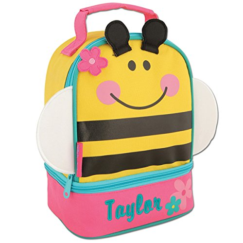 Personalized Stephen Joseph Bee Lunch Pal with Embroidered Name