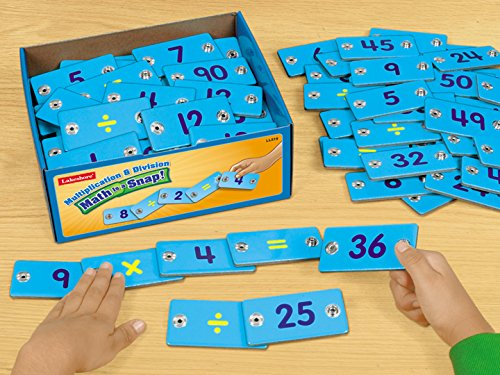 Math Is a Snap! Multiplication & Division $29.99 s by Lakeshore (Image #3)