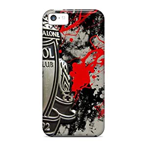 UVckT2163yqlMm Faddish Beloved Football Club Liverpool Case Cover For Iphone 5c