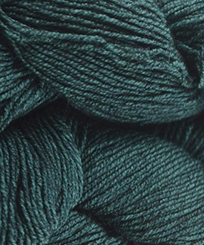 Malabrigo Dos Tierras 412 Teal Feather DK Wool Baby Alpaca ()