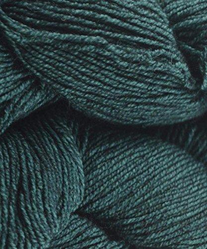 Malabrigo Dos Tierras 412 Teal Feather DK Wool Baby Alpaca - Wool Yarn Teal