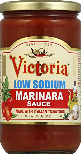 Victoria, Sauce Ls Marinara, 25 OZ (Pack of 6)