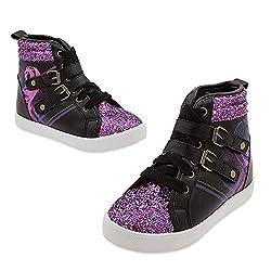 Disney Kids Descendants Wedge Sneakers 9 Youth