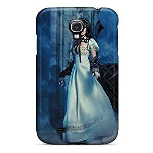 Premium FgbUQlG2615OneRJ Case With Scratch-resistant/ Alone On The Stormy Night Case Cover For Galaxy S4