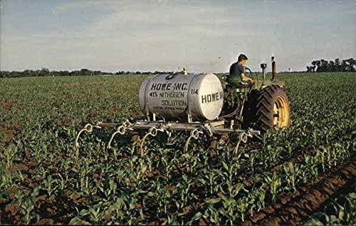 Vintage Advertising Postcard: Howe Inc. Best Bet Fertilizer Modern 1970's to Present from CardCow Vintage Postcards