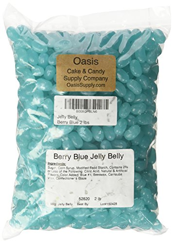 Jelly Belly Beans, Berry Blue, 2 Pound