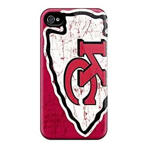 Anti-Scratch Hard Phone Covers For Apple Iphone 5/5s (WSc20666qfqy) Support Personal Customs Trendy Kansas City Chiefs Skin