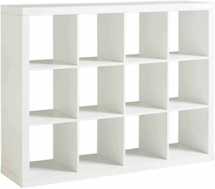 Better Homes and Gardens 12-Cube Organizer (White)