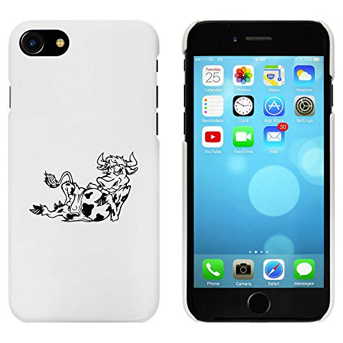 Blanc 'Vache Séductrice' étui / housse pour iPhone 7 (MC00076798)
