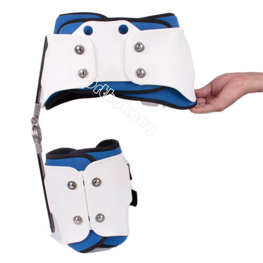 Hip Joint Dislocation Of Hip Abduction Orthosis Fixation Hinge Adjustable Waist Leg Brace Femur Injury(Both) FREE SHIPPING BY EMS ABOUT 8-10 Days by Orthokong (Image #7)