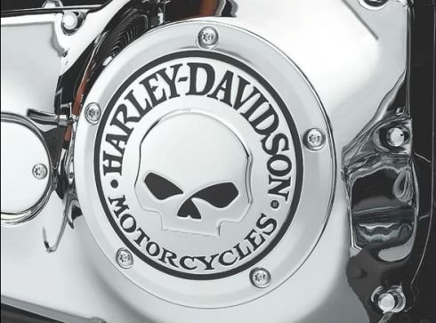 Willie Tapa Encendido Embrague G. Skull Twin Cam y Evolution Harley Davidson: Amazon.es: Juguetes y juegos